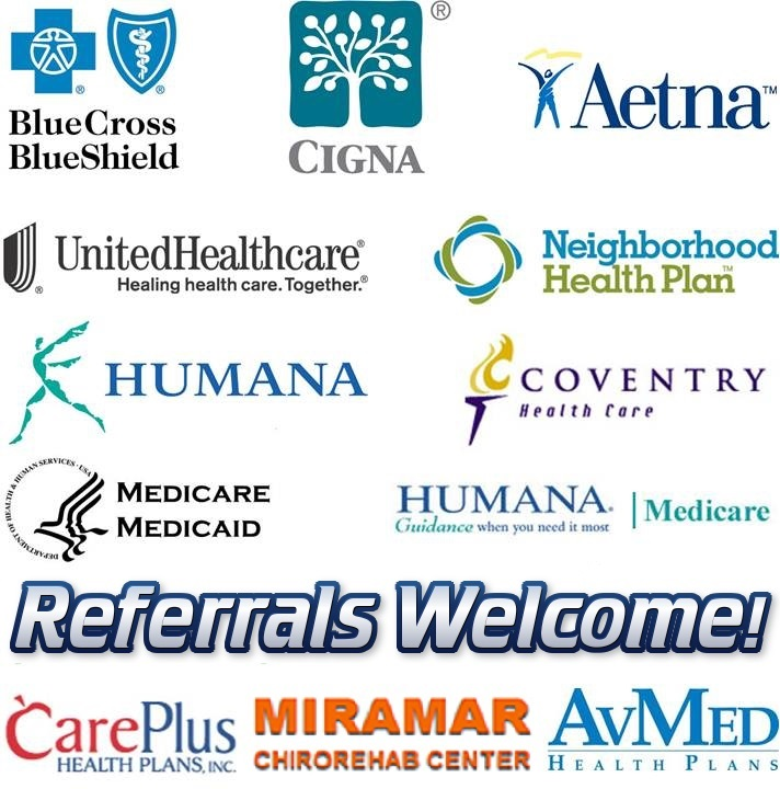 We Accept All Major Health Insurance Companies & Welcome Referrals